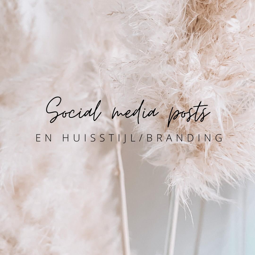 Social media posts maken in de huisstijl van je bedrijf