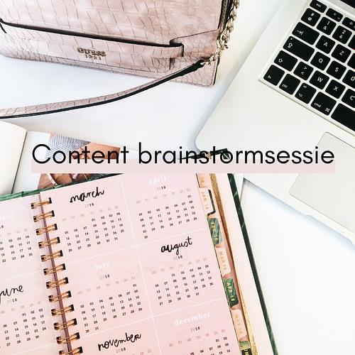 Content brainstormsessie voor ondernemers