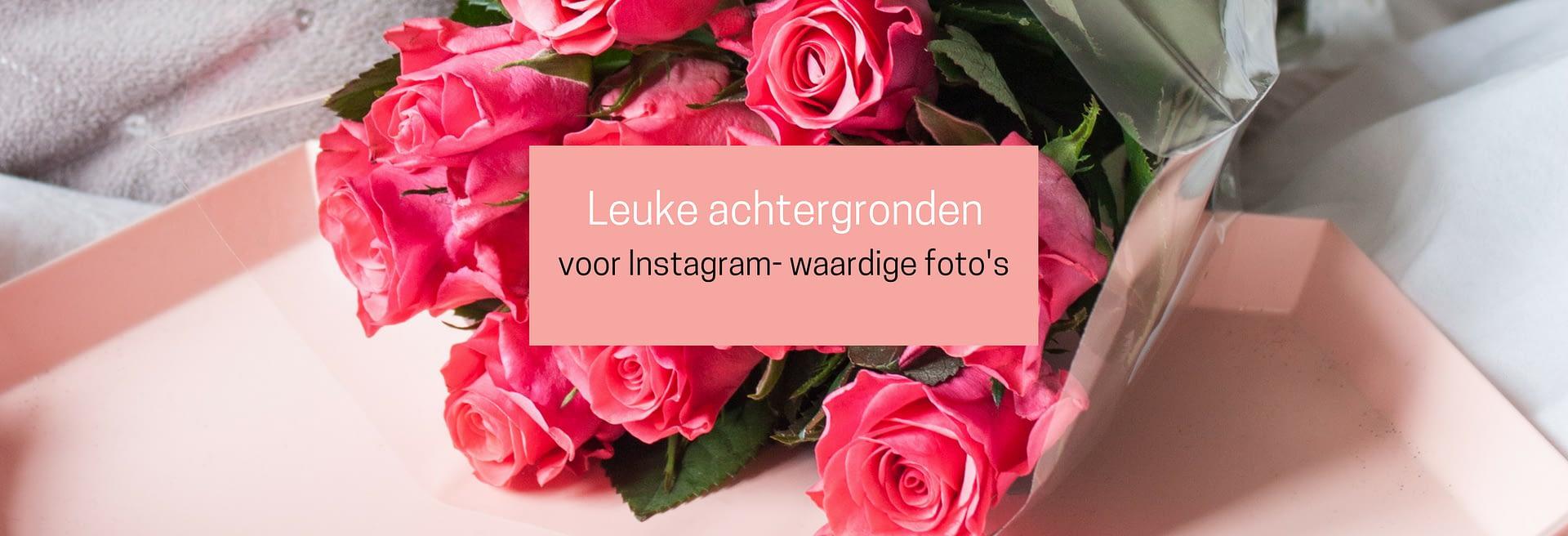 leuke achtergronden voor Instagram-waardige foto's
