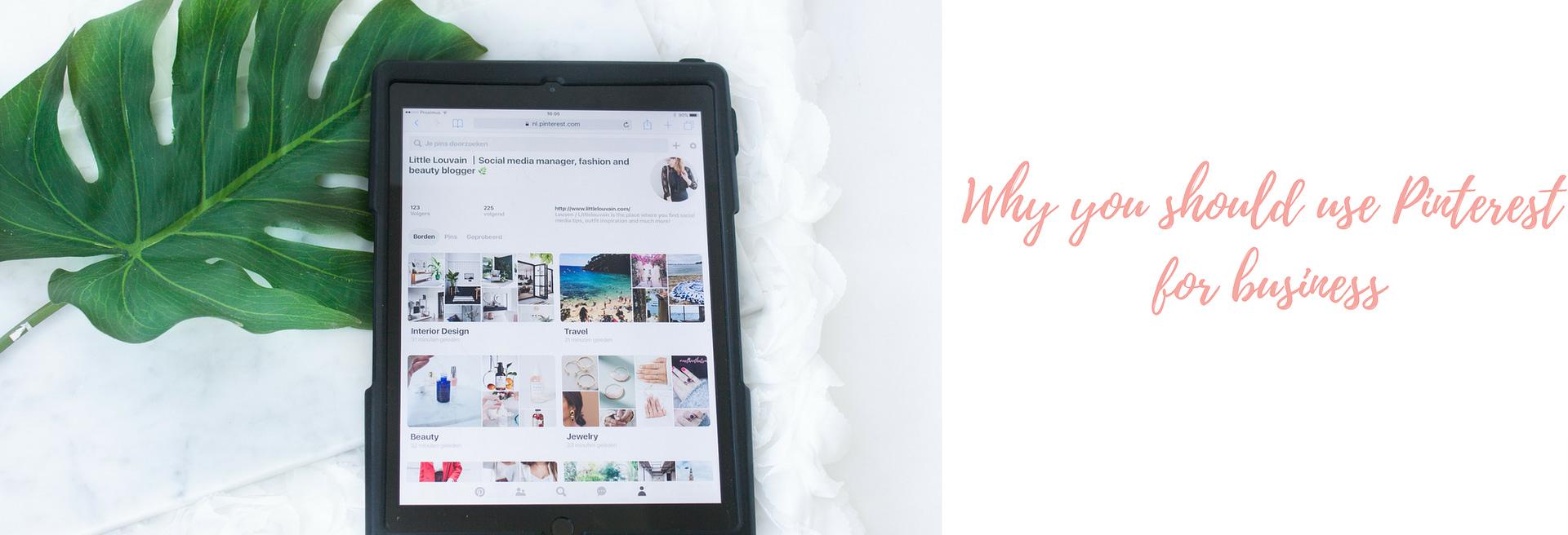 Waarom Pinterest interessant is voor bedrijven