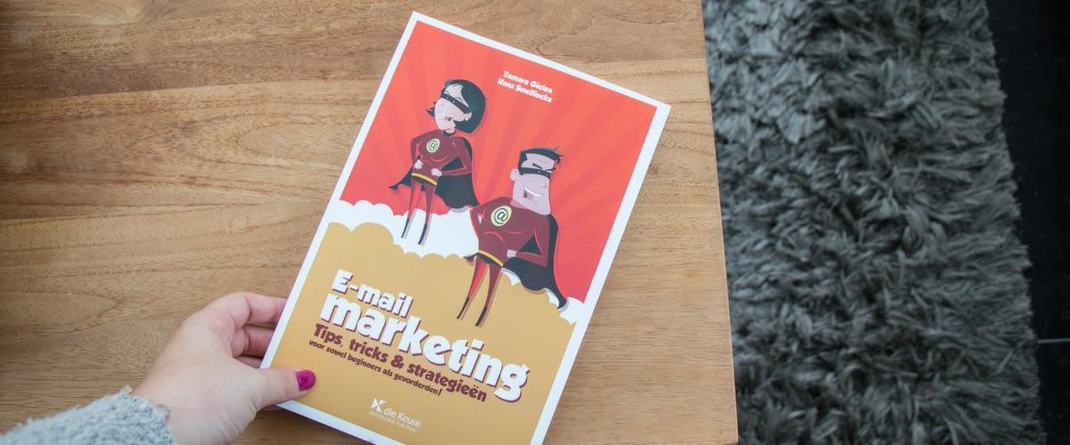 E-mailmarketing boek Tamara Gielen en Hans Smellinckx