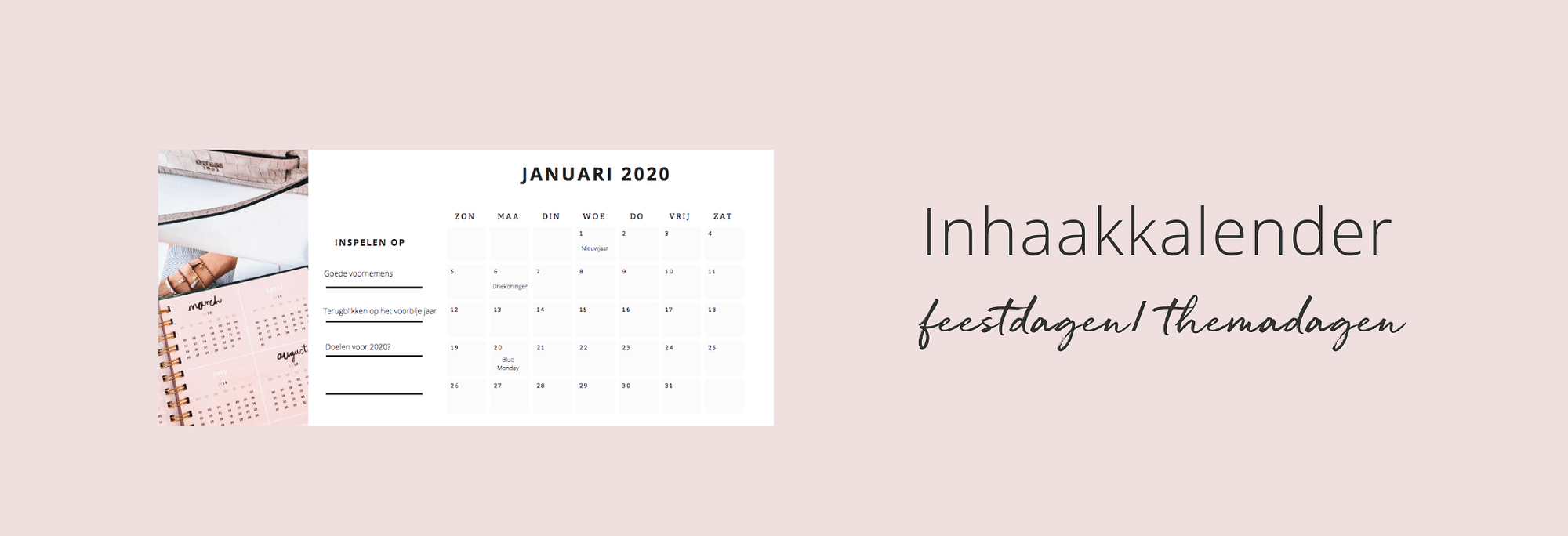 Inhaakkalender 2020 voor je volgende social media posts (1)