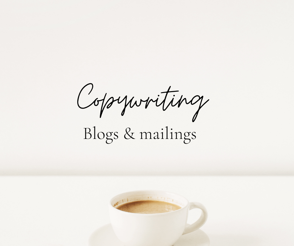Copywriting blogs en mailings uitbesteden