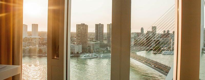 Ons verblijf in het Nhow hotel, Rotterdam